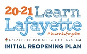 Lafayette Schools Reopening Plan for 20-21