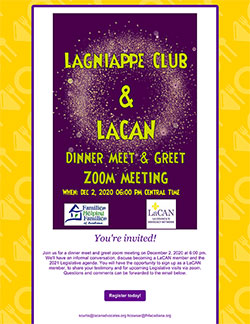 Lagniappe Club & LACAN Meet & Greet
