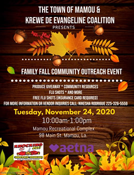 Family Fall Community Outreach Event