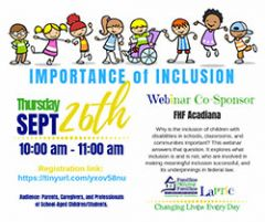 Importance of Inclusion